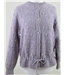 VIntage 80s St Michael size 16 lilac textured knit wool cardigan