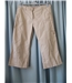 Monsoon size: 12 beige cropped trousers