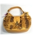 BNWT - Pure Accessories One size Yellow Faux Snakeskin Handbag