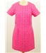 NWOT M&S Size: 10 short pink retro look knee length dress