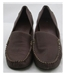 Footglove, size 4.5 brown leather slip on shoes