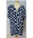 BNWT Marcelle Griffon size 14 blue with white floral print blouse