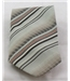 Vintage 70's Folkespeare grey, brown, orange & cream striped tie