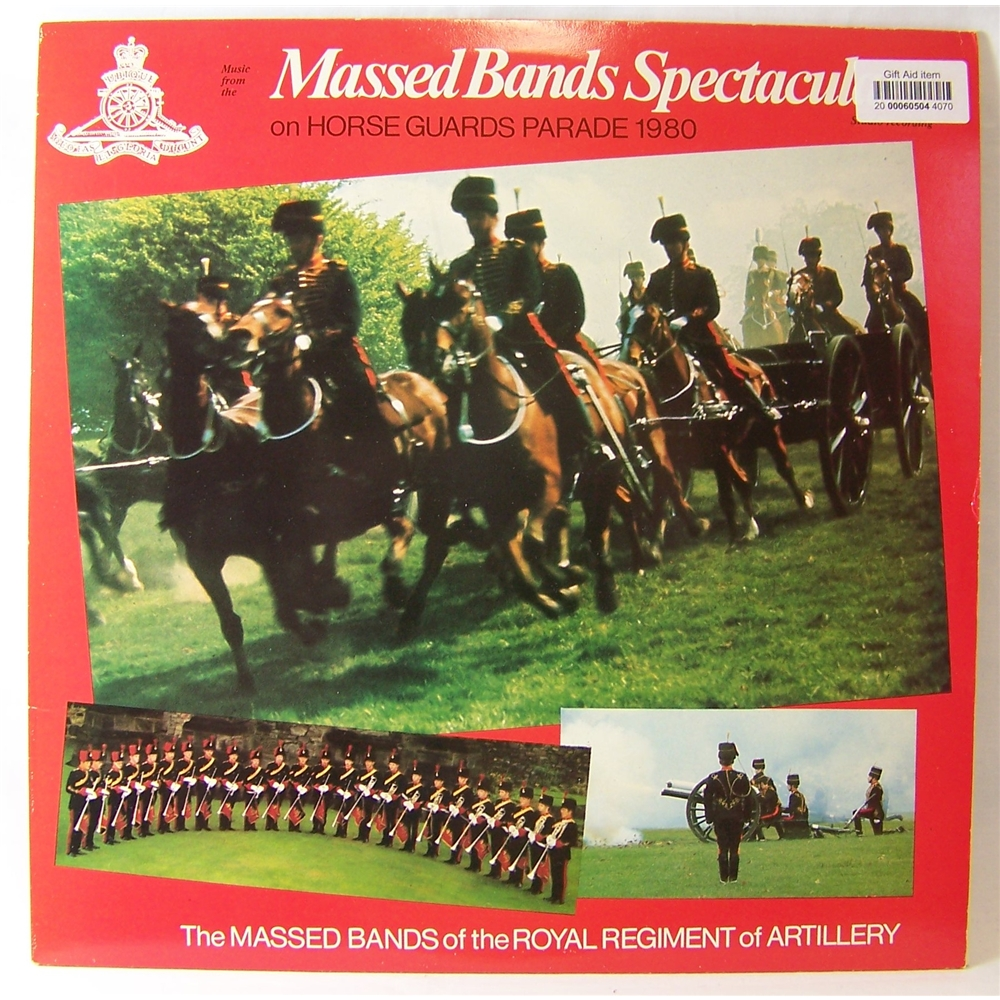 Preview of the first image of Massed Bands Spectacular - Massed Bands of the Royal Regiment of Artillery - DR24.