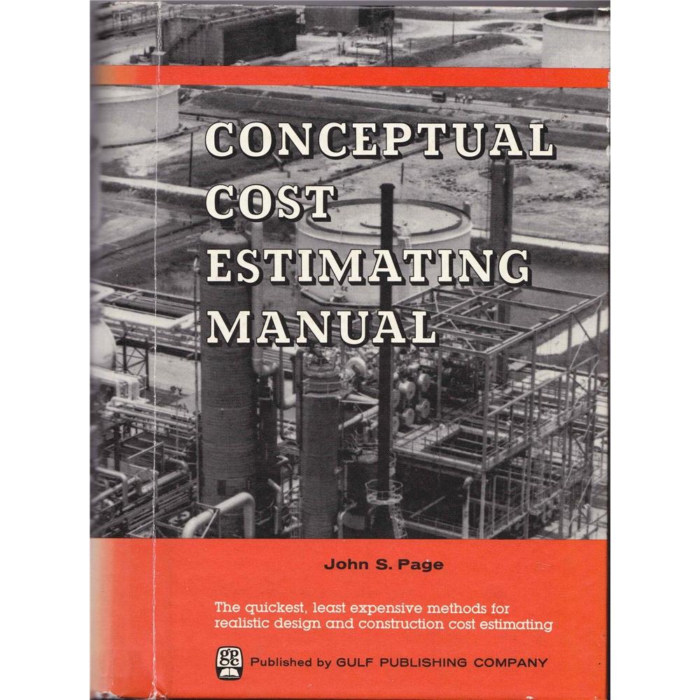 Conceptual Cost Estimating Manual. Loading zoom