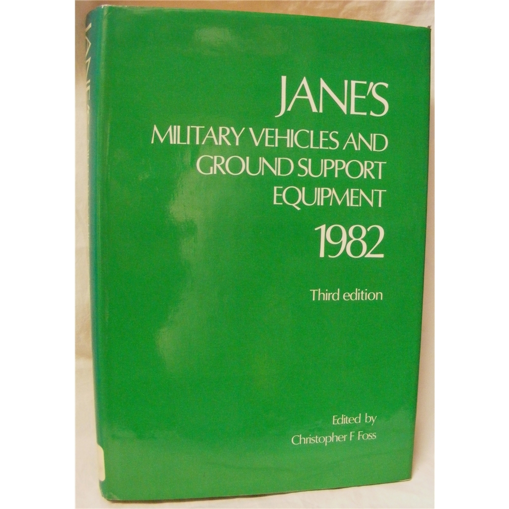 Jane's military vehicles and ground support equipment 1982  | Oxfam GB |  Oxfam's Online Shop