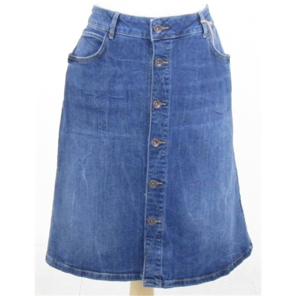 fb95013320 NWOT M&S Marks & Spencer size: 20 blue denim skirt | Oxfam GB ...