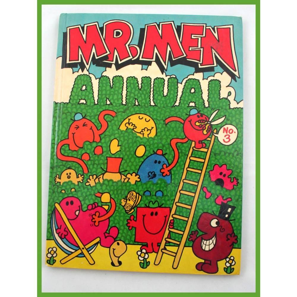 Mr Men Annual No 3 Loading Zoom