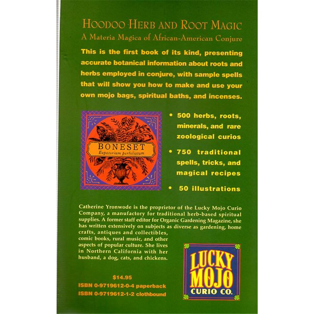 Hoodoo Herb and Root Magic: A Materia Magica Of African-American Conjure |  Oxfam GB | Oxfam's Online Shop