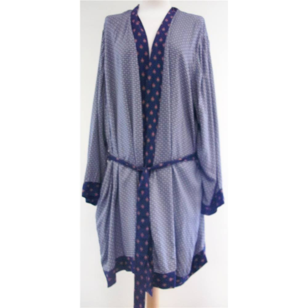 M&S - Size: 22 - Multi-coloured - Dressing gown | Oxfam GB | Oxfam\'s ...