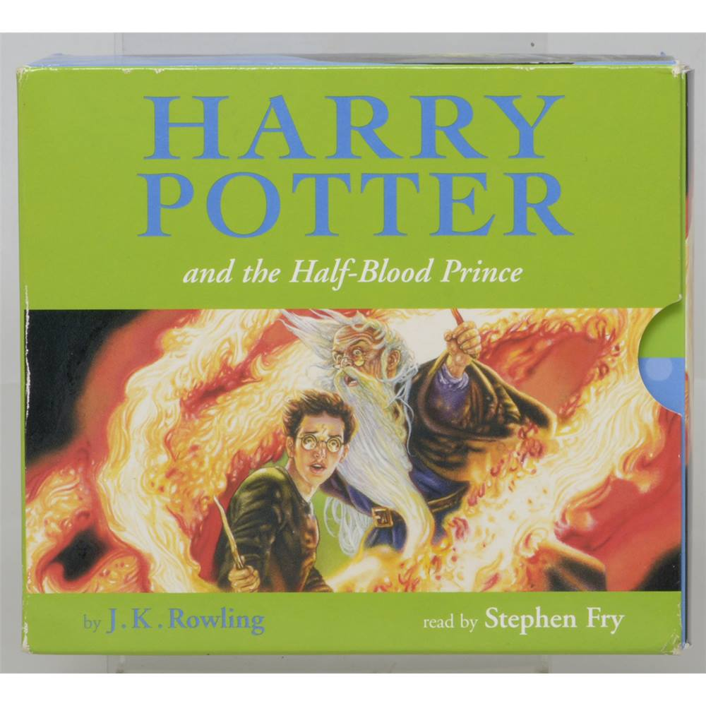 Harry Potter and the Half-Blood Prince - read by Stephen Fry. Loading zoom
