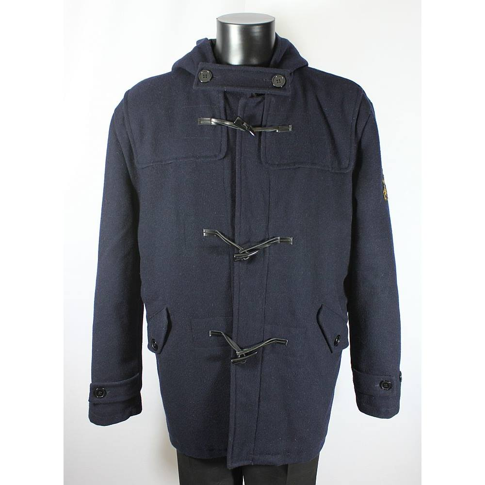 Duffer of St George Duffle Coat - Navy - Size L The Duffer of St ...