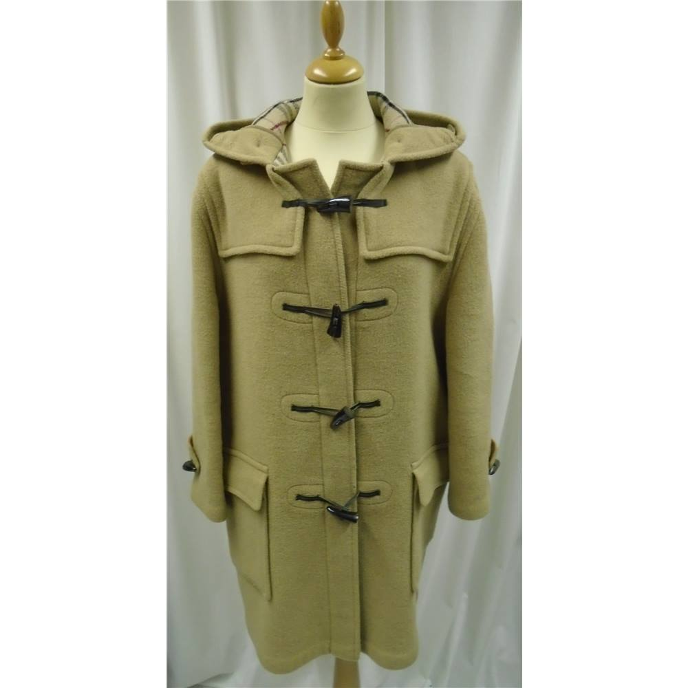 4d23564b9c1f Vintage - Burberry - Size  M - Beige - Wool - Duffle Coat