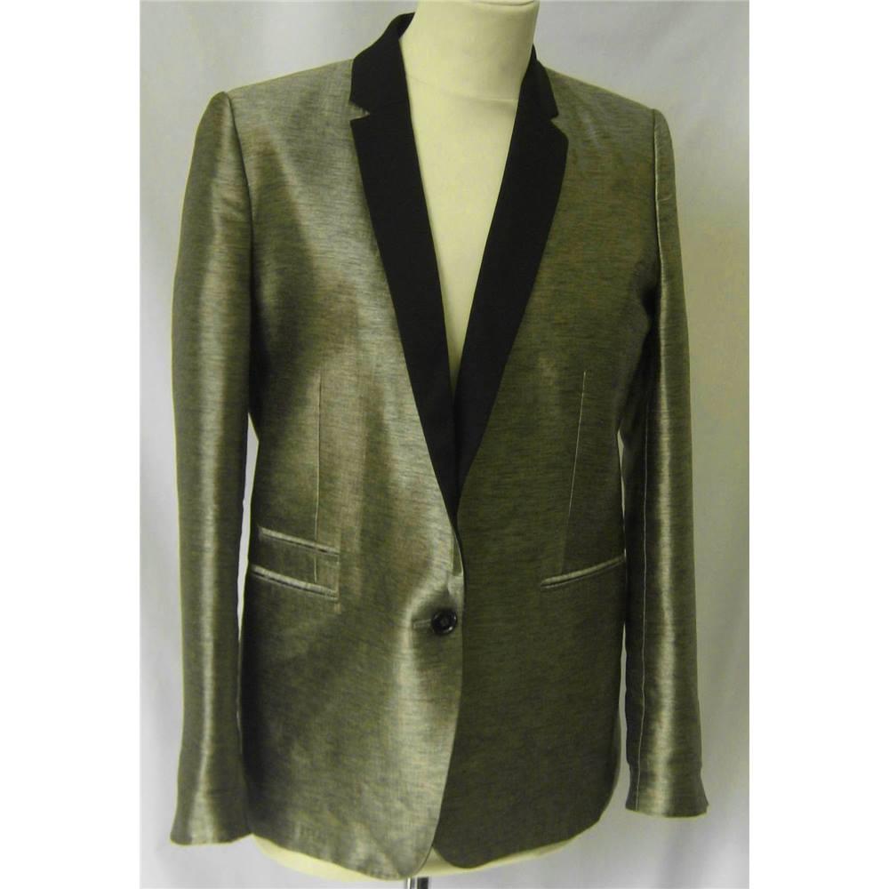1dd8754bd1a The Kooples size: 10 gold blazer jacket | Oxfam GB | Oxfam's Online ...
