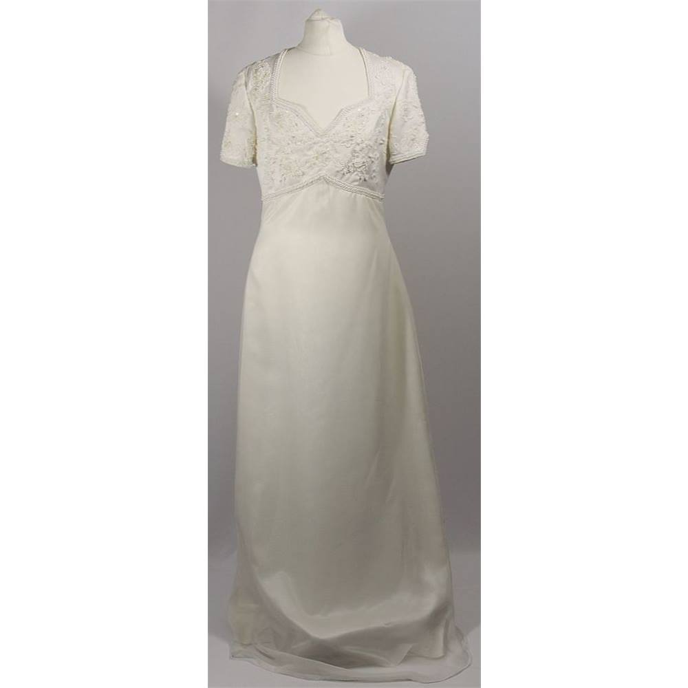 Forever yours wedding dress ivory size 8 forever yours size forever yours wedding dress ivory size 8 forever yours size 8 loading zoom ombrellifo Image collections