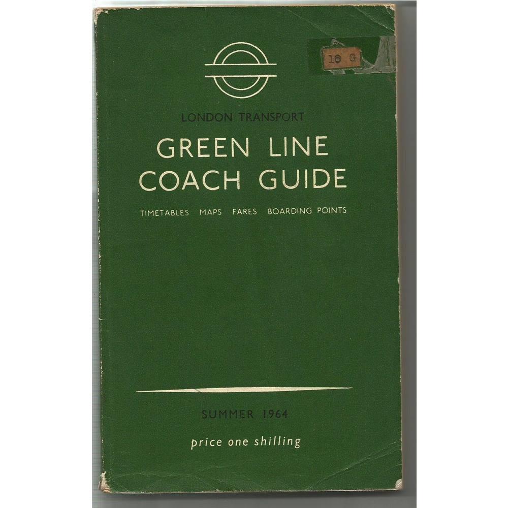 London Transport Green Line Coach Guide 1964