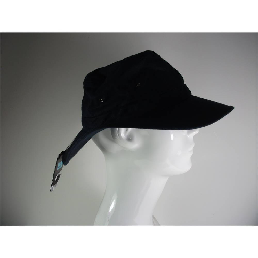 cfa7a9860 New Marks & Spencer Navy Linen Sun Hat Size Large | Oxfam GB | Oxfam's  Online Shop
