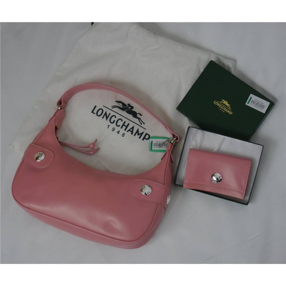 3d38d503ea6c Longchamp - Pink - Shoulder bag and Coin purse