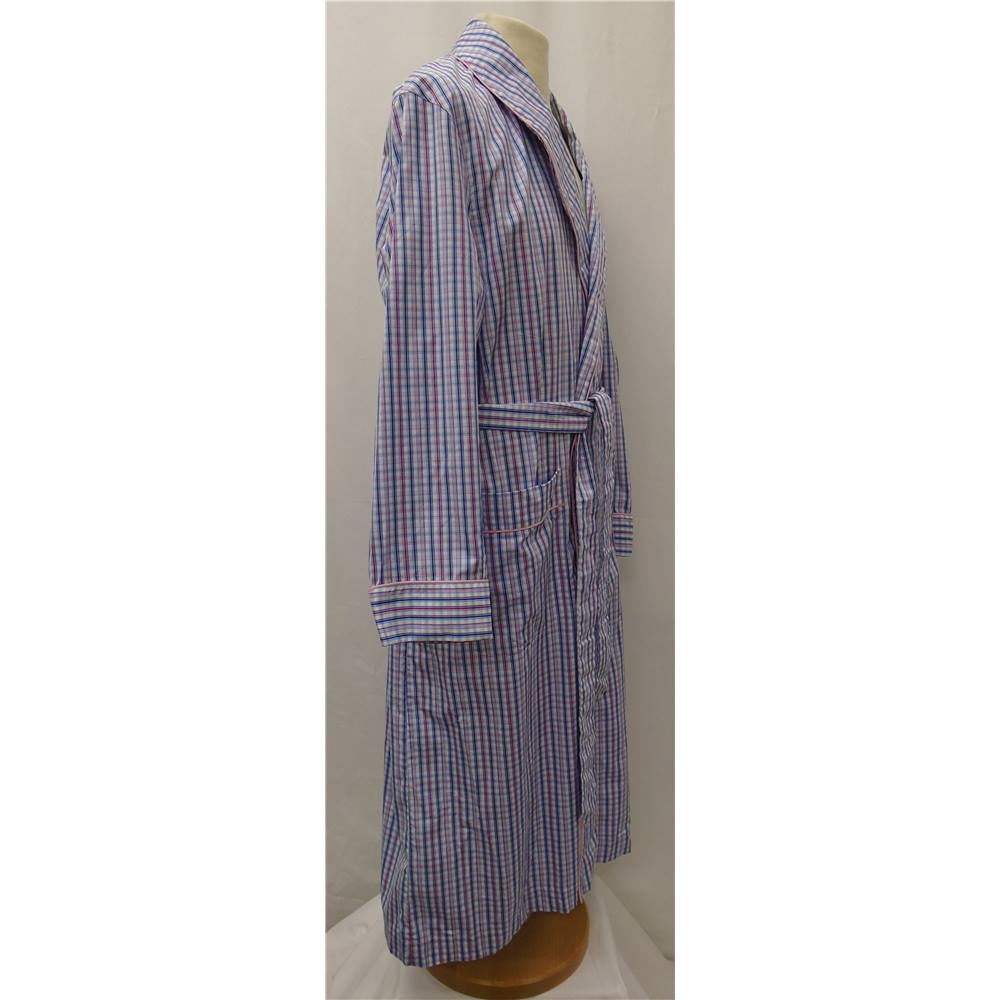 Turnbull & Asser - Size: M - Multi-coloured - Dressing gown - New ...