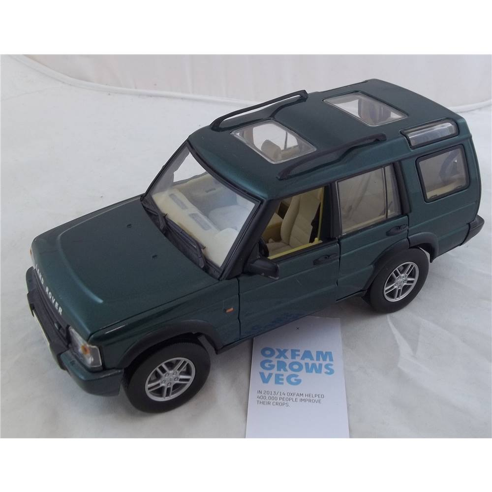 Motor Max Land Rover Discovery 2004, 1/18 Green.