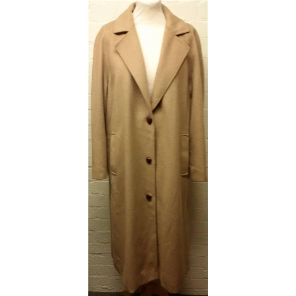 ad5a893c5 Vintage Admyra - Size 12 - Cashmere Coat - Camel | Oxfam GB | Oxfam's  Online Shop