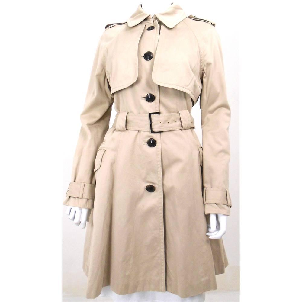 7624e3cb2 Ted Baker Size 12 Beige Trench Coat