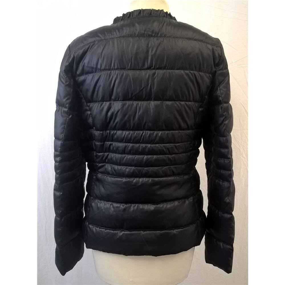09e5d30a494 Etage Outerwear - Size: 12 - Black Padded Feather Down Coat ...