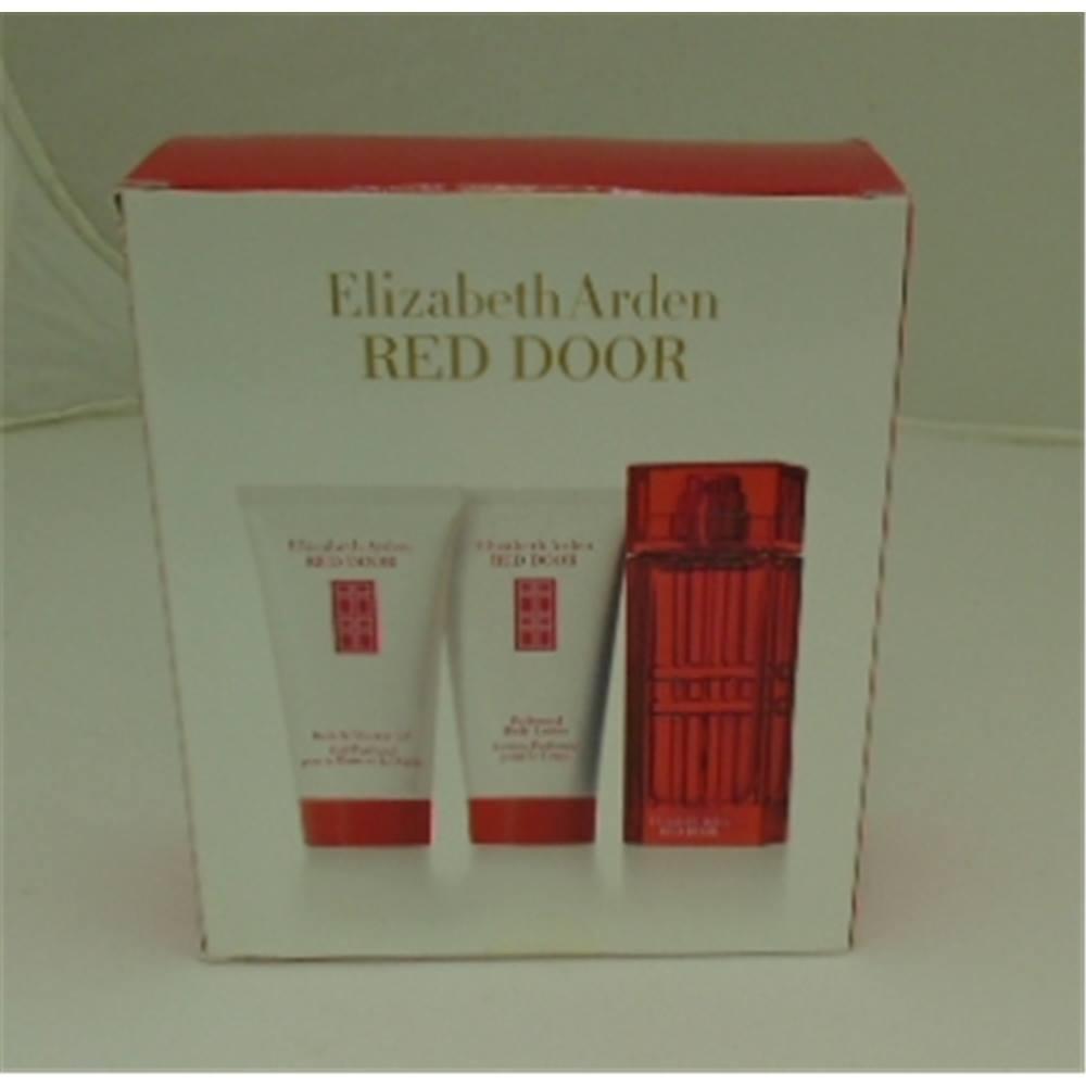 Elizabeth Arden Red Door Gift Set 30ml Perfume Gift 50ml Body