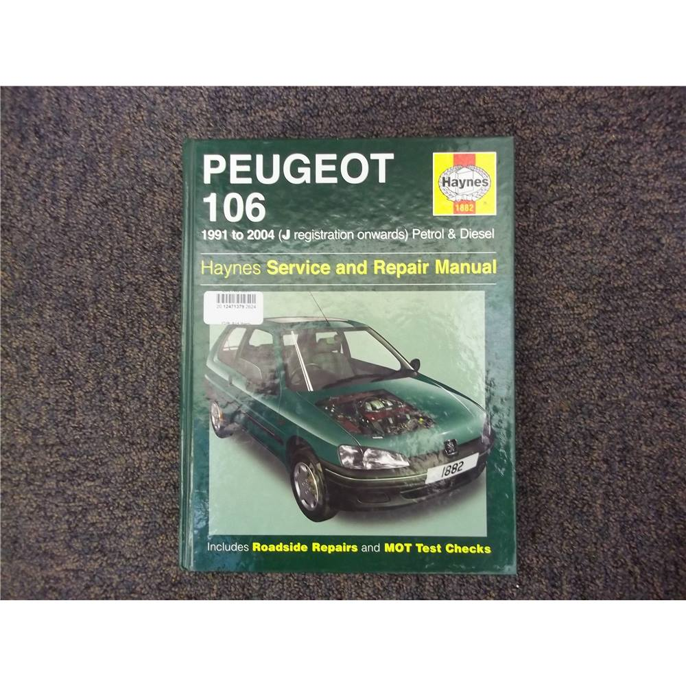Peugeot 106 service and repair manual. Loading zoom