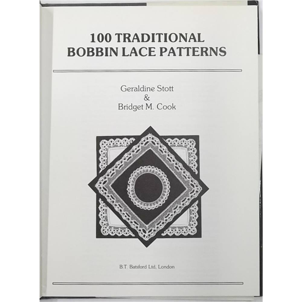 100 Traditional Bobbin Lace Patterns. Loading zoom. Rollover to zoom