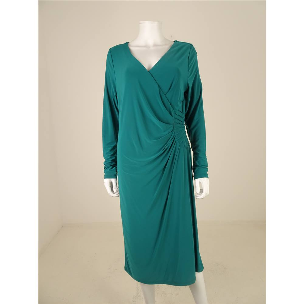 D By Damsel In A Dress For Matalan Size 16 Teal Midi Dress | Oxfam ...