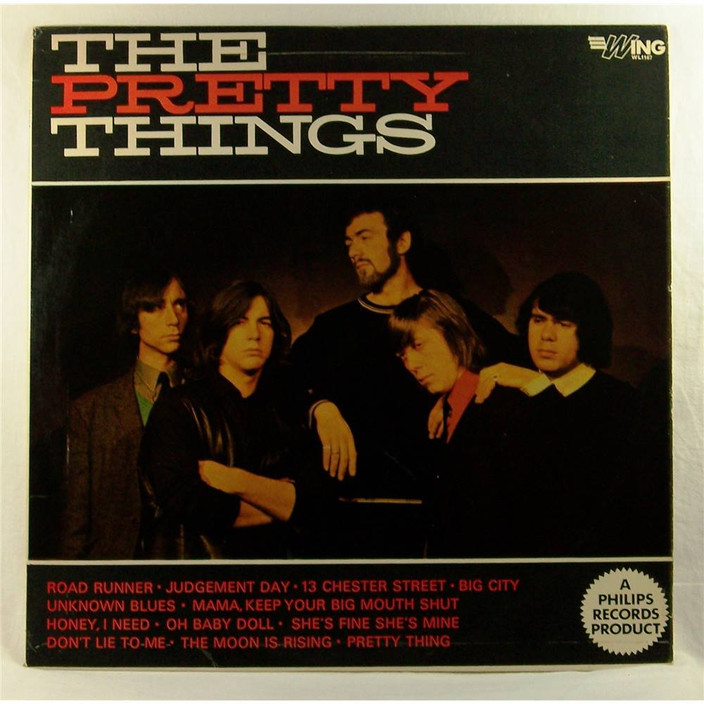 The Pretty Things – Wing label, Cat  No  WL1167    Oxfam GB   Oxfam's  Online Shop