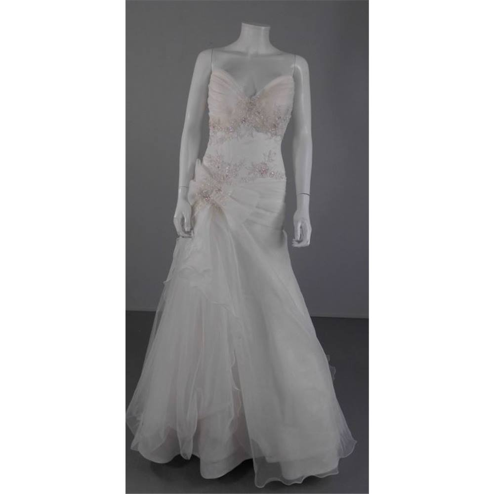 My Moda Size 10 Ivory Corset Strapless Wedding Dress | Oxfam GB ...