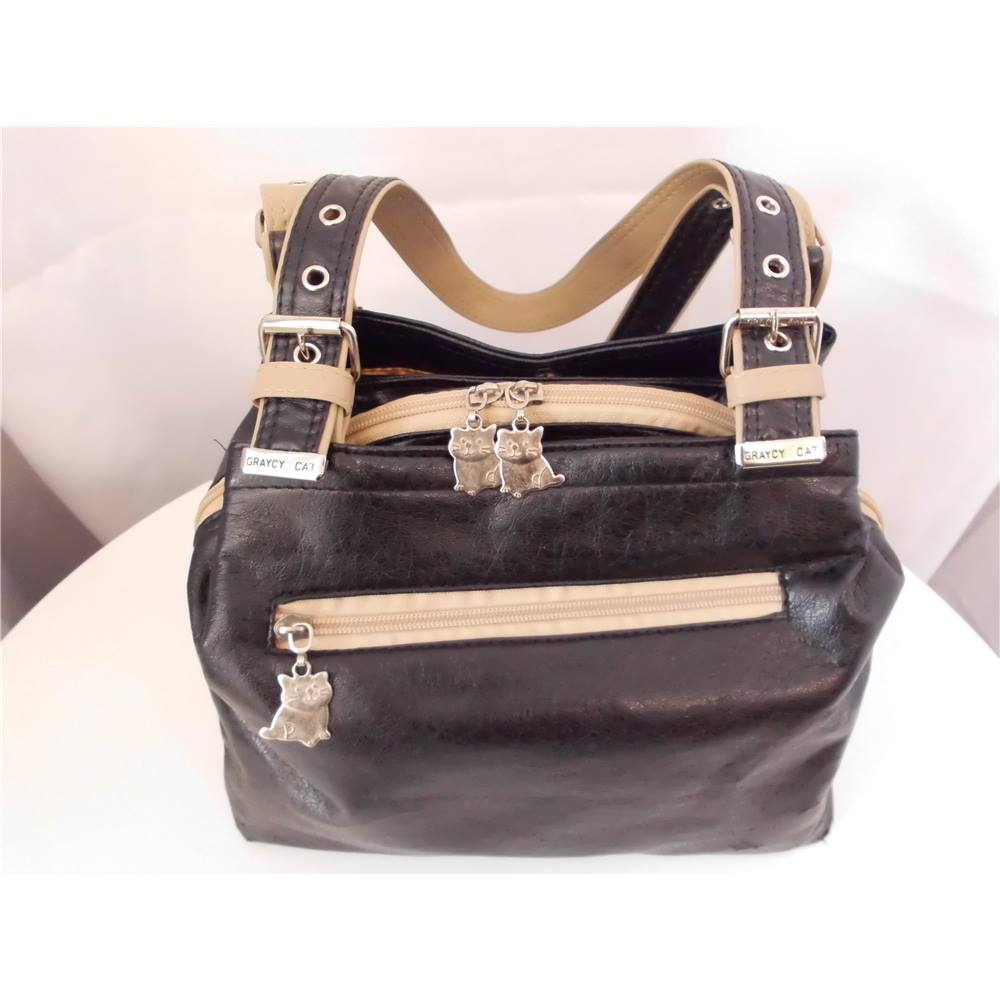 3feaeebb88 *Graycy Cat Black Bag. Loading zoom. Rollover to zoom