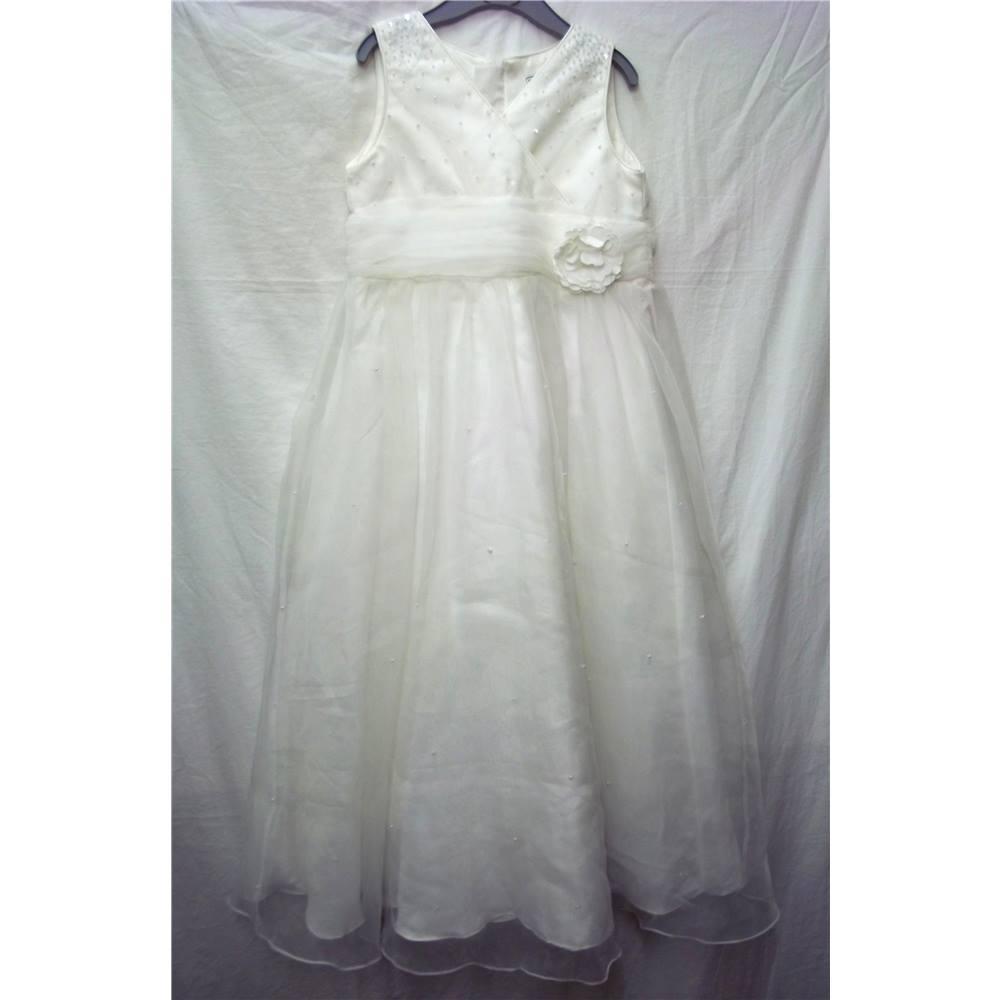 BHS - Size: Age 9 - Cream / ivory - Dress