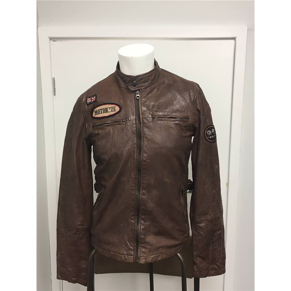d59e24c5ade1 Men's Leather Jacket by Zara Young, size EUR M, US M, Mex 38 ...