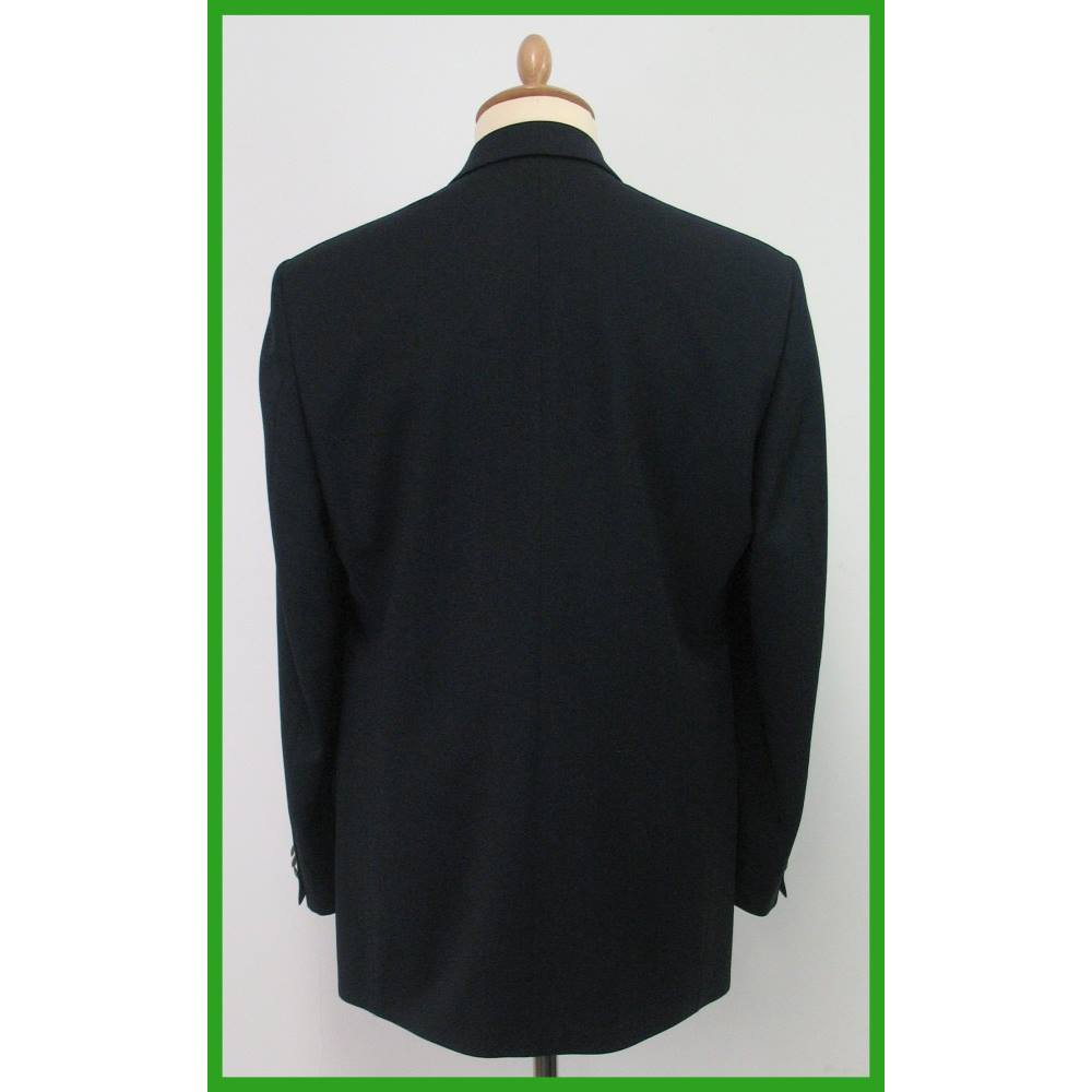 91d4a3d683e M S Marks   Spencer - Size M - Navy- Double breasted blazer. Loading zoom.  Rollover to zoom