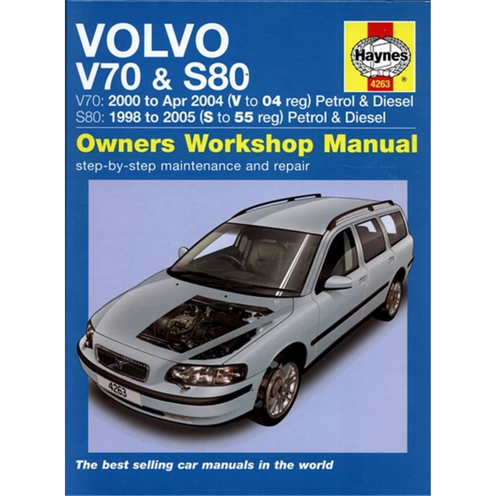 Volvo V70 & S80 owners workshop manual. A Haynes Manual. Loading zoom
