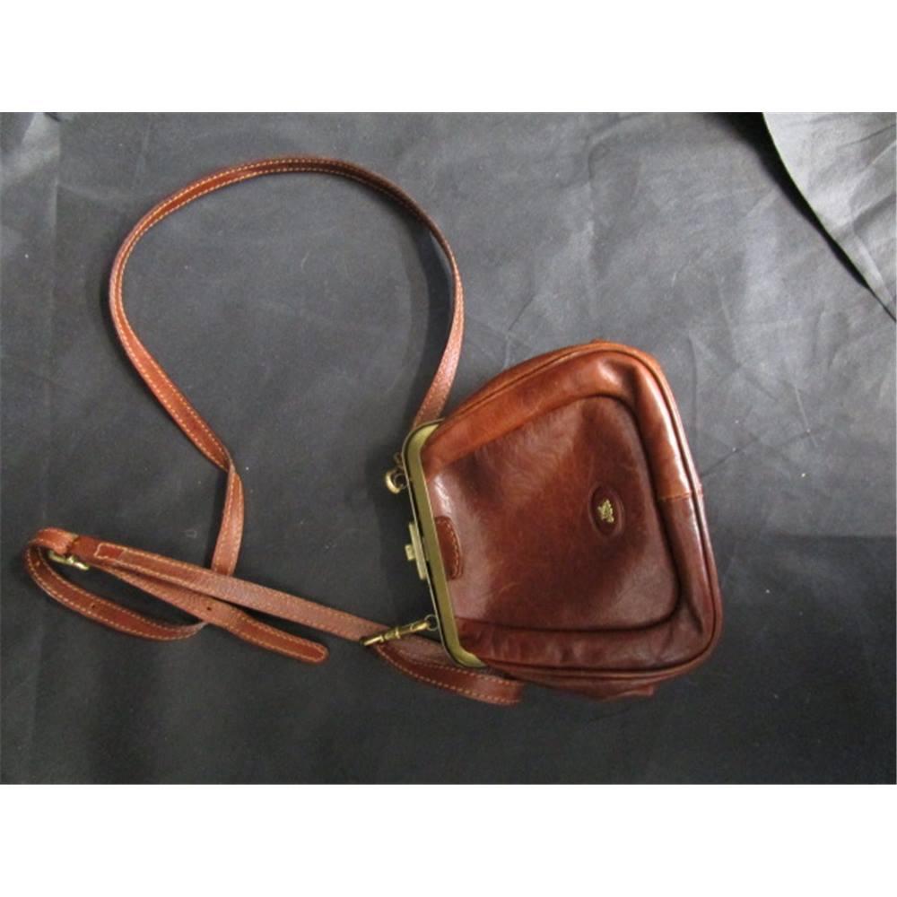 The Bridge Leather Strap Handbag Vintage Stunning Loading Zoom