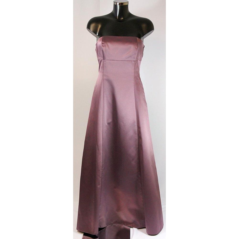 Debenhams Début size 10 purple strapless evening dress   Oxfam GB ...