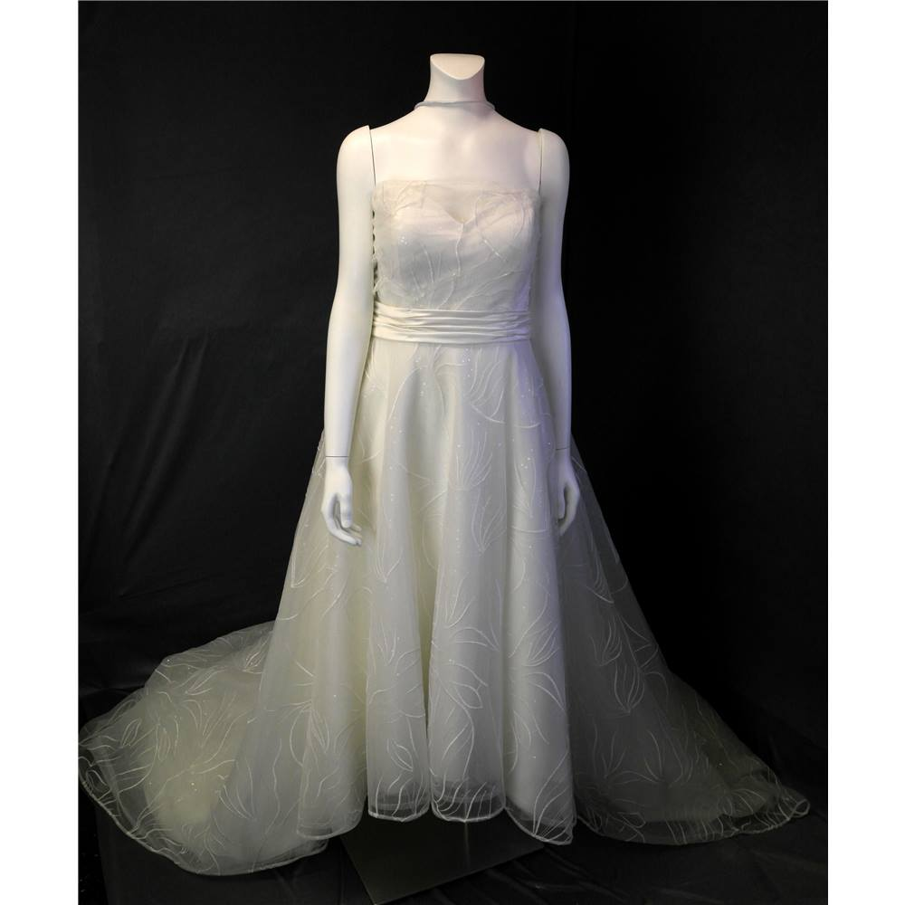 BNWT Eden Bridals US Size 12 Ivory Wedding Dress Eden Bridals - Size ...