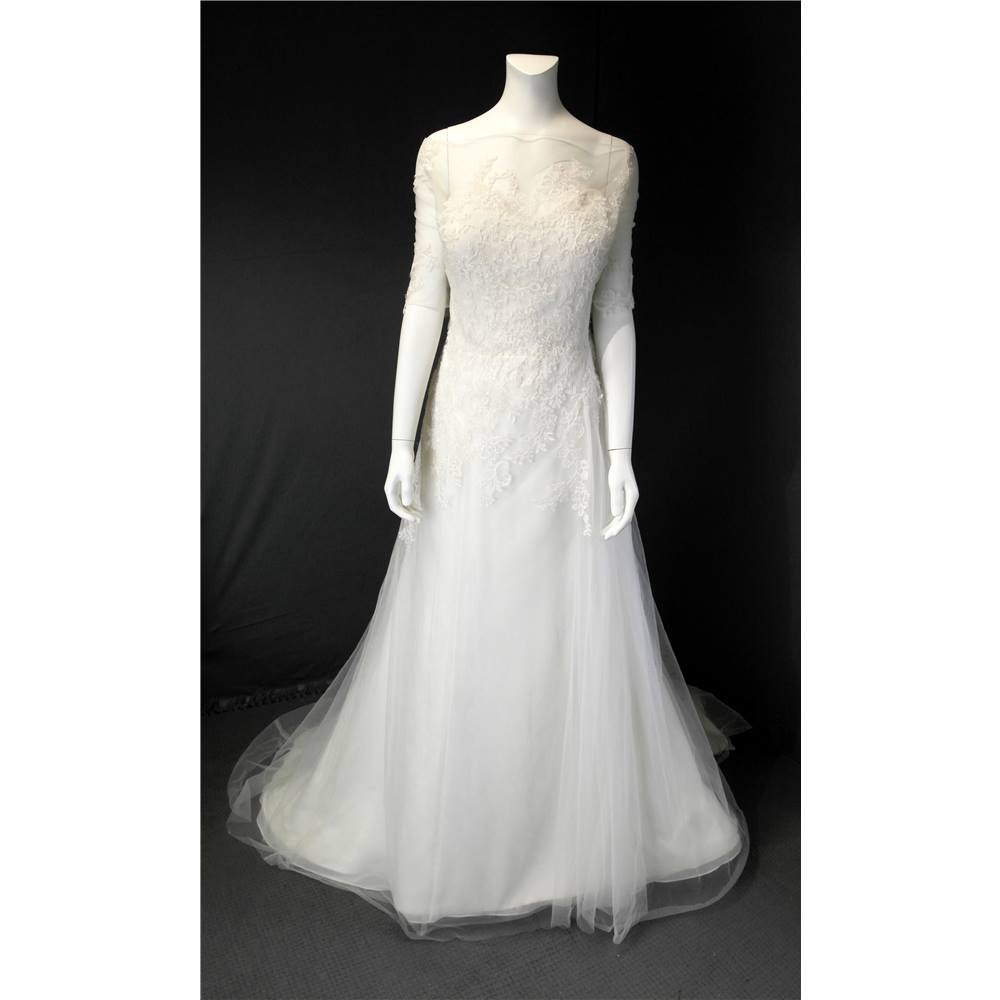 BNWT Villais Moda Nupcial Size 12 Ivory Wedding Dress Villais Moda ...