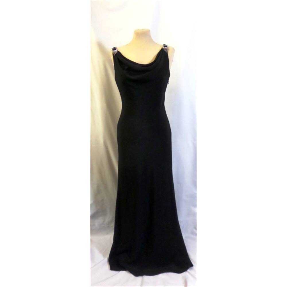 BNWT Pearce Fionda Designers at Debenhams size:10 black gown with ...