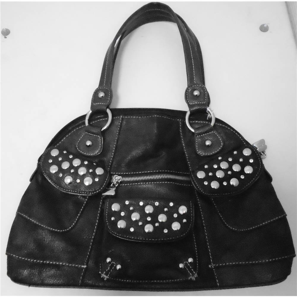 Kathy Van Zeeland Las Bronze Handbag Size One Loading Zoom