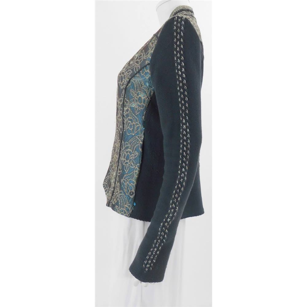 Kello size 14 patterned knitted jacket. Loading zoom. Rollover to zoom ed4646f6b5