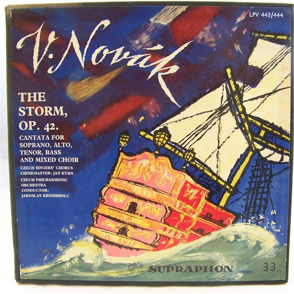 V  Novak: The Storm, OP 42 - Czech Singers' Chorus, Czech Philharmonic -  LPV 443/444 | Oxfam GB | Oxfam's Online Shop