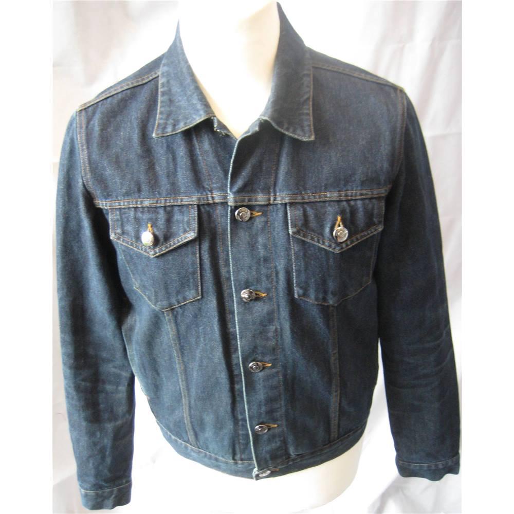 7196ccca Hugo Boss denim trucker jacket size M Hugo Boss - Size: M - Blue -