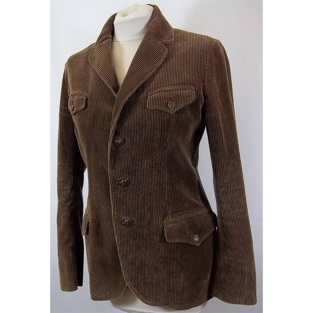 Ralph Lauren - Size: 4 - Brown -  Corduroy Blazer