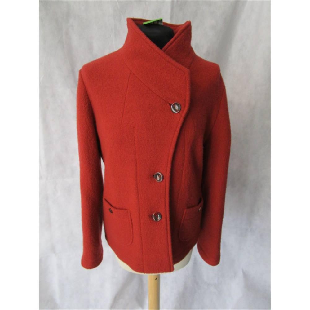 8dedd50f8 Viyella Size:12 terracotta wool jacket   Oxfam GB   Oxfam's Online Shop