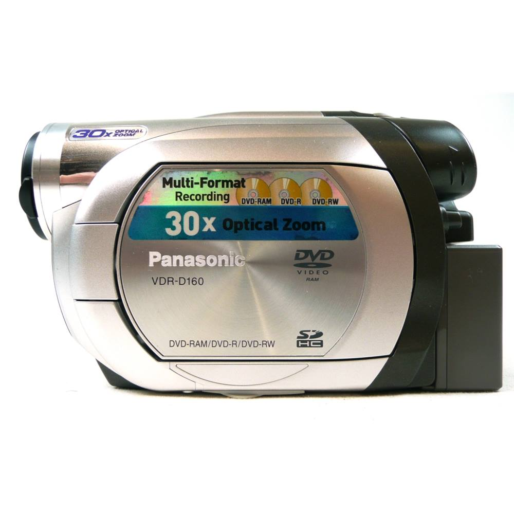 Panasonic VDR-D160 Camcorder. Loading zoom